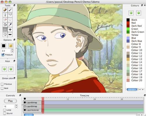 โปรแกรม Pencil Animation