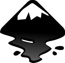 Inkscape (โปรแกรมแต่งภาพฟรี เหมือน Photoshop) :