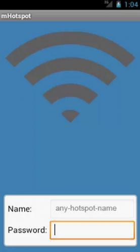 แอพแชร์เน็ต mHotspot (Free Hotspot app)