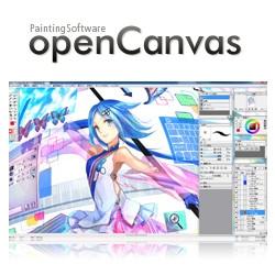 openCanvas (โปรแกรมวาดการ์ตูน วาดการ์ตูนญี่ปุ่น) :