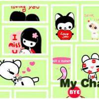 My Chat Sticker 2 (App โหลดสติ๊กเกอร์ฟรี 500 แบบ ทุกแอพ)