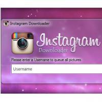Instagram Downloader (โปรแกรมโหลดรูป เซฟรูป Instagram ฟรี)