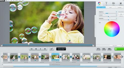 โปรแกรมตัดต่อวีดีโอ Video Easy HD