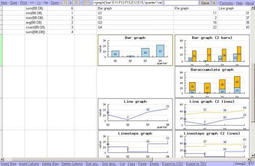 ดาวน์โหลด Simple Spreadsheet