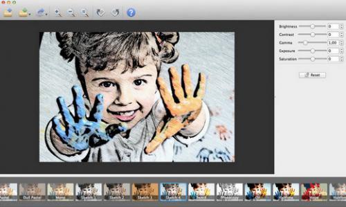 XnSketch (โปรแกรม XnSketch เปลี่ยนรูป เป็นการ์ตูน ภาพสเก็ต) :