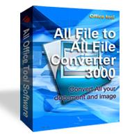All File to All File (โปรแกรมแปลงไฟล์เอกสาร เป็น PDF เป็นรูปภาพ)