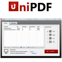 UniPDF Free PDF to Word Converter