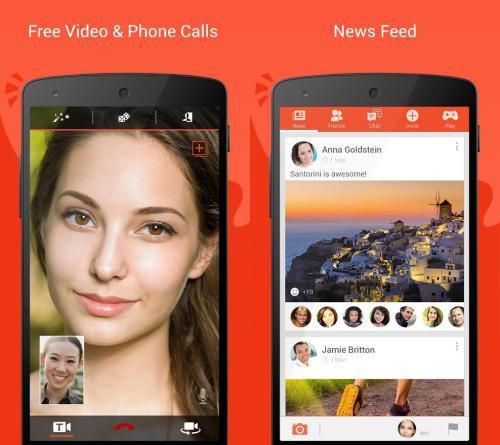 App แชทแบบเห็นหน้า Tango