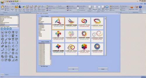 โปรแกรม EximiousSoft Logo Designer