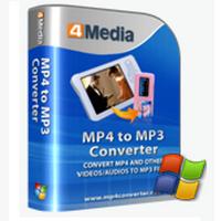 4Media MP4 to MP3 Converter (โปรแกรมแปลงไฟล์ MP4 เป็น MP3) :