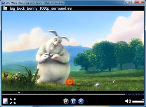 โปรแกรมดูหนัง VSO Media Player