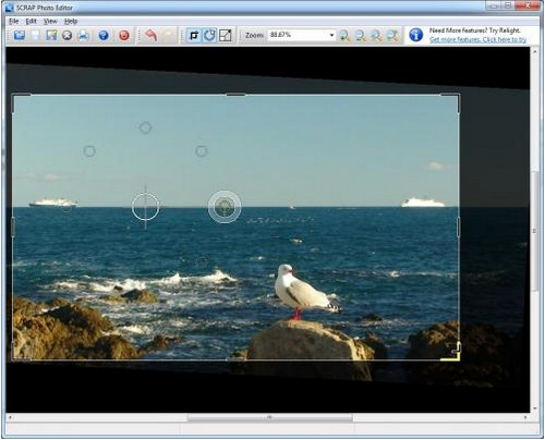 โปรแกรมแต่งรูป SCRAP Photo Editor