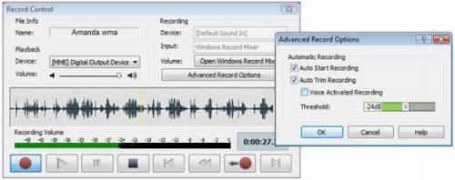 โปรแกรมแต่งเพลง WavePad Sound Editor