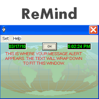 Breaktru ReMind (โปรแกรมช่วยเตือนความจำ บอกเวลา ปฏิทิน)