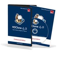 HDClone (โปรแกรม HDClone โคลนฮาร์ดดิสก์ ก๊อปปี้ HDD) :