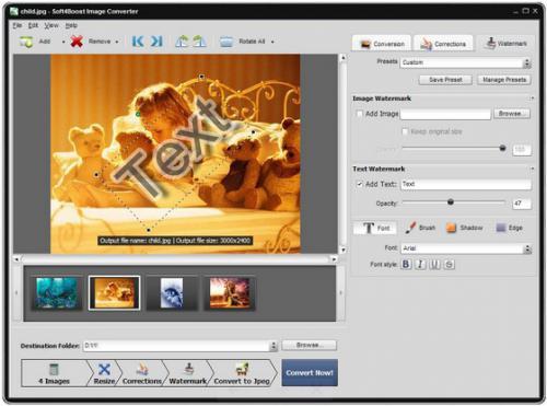 โปรแกรมแปลงไฟล์ Soft4Boost Image Converter