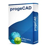 ProgeCAD 2014 (โปรแกรมเขียนแบบ เปิดไฟล์ .DWG AutoCAD ได้)