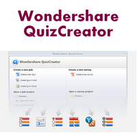Wondershare QuizCreator (โปรแกรมสร้างข้อสอบ คำถาม ทำแบบสอบถาม)