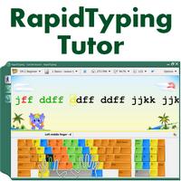 Rapid Typing Tutor (โปรแกรมฝึกพิมพ์ดีด ภาพสวย พิมพ์สนุก) :