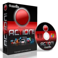 Mirillis Action (โปรแกรม Mirillis Action อัดวิดีโอ จับภาพหน้าจอ) :
