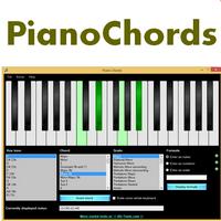 Piano Chords (โปรแกรม Piano Chords เปียโนจำลอง)