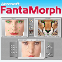 Abrosoft FantaMorph (โปรแกรมเปลี่ยนภาพ ด้วยคอมพิวเตอร์)