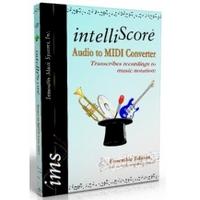 IntelliScore Audio to MIDI Converter (โปรแกรมแปลงไฟล์ MP3 เป็น MIDI)