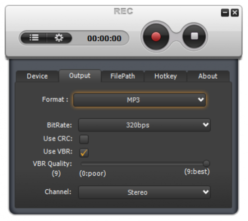 Weeny Free Audio Recorder