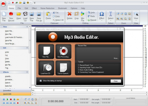 MP3 Audio Editor :