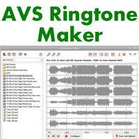 AVS Ringtone Maker (โปรแกรม Ringtone Maker สร้างริงโทน)