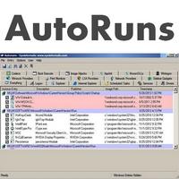 AutoRuns (โปรแกรมหมวด Startup ใดที่ถูกเปิดตอน Boot) :