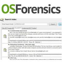 OSForensics (โปรแกรมหาหลักฐานดิจิตอล คอมพิวเตอร์ ในทางกฎหมาย)