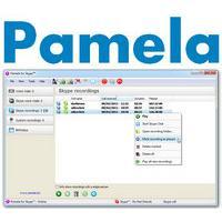 Pamela (โปรแกรม Pamela บันทึกเสียงฟรี)