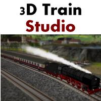 3D Train Studio (เกมส์สร้างทางรถไฟ 3 มิติ บน PC วิ่งได้จริงๆ บนเมือง)