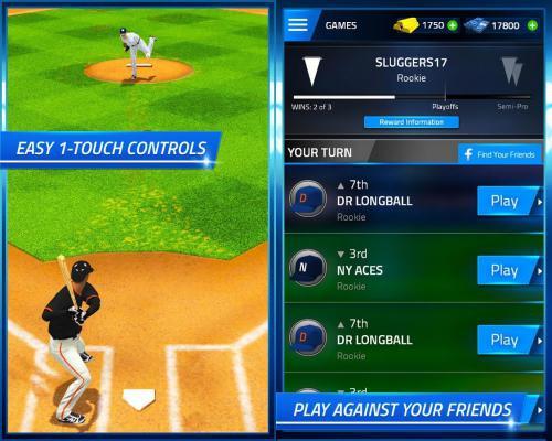 App เกมส์ตีเบสบอล