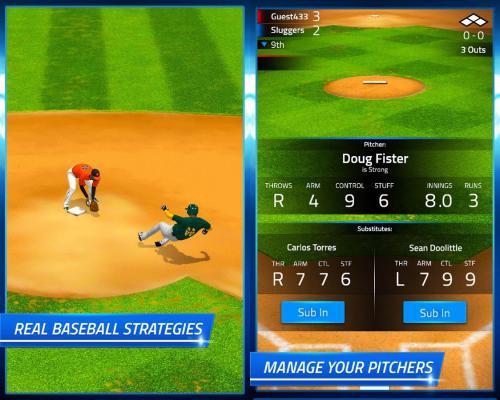 โหลดเกมส์ Tap Sports Baseball