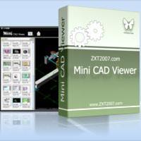 Mini CAD Viewer (โปรแกรม เปิดดูไฟล์ AutoCAD แจกฟรี)