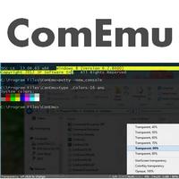 ConEmu (โปรแกรม cmd พิมพ์คำสั่ง สีสันสดใส)