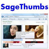 SageThumbs (โปรแกรมพรีวิว ดูรูปกว่า 160 รูปแบบ ง่ายๆ)
