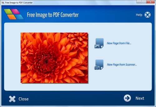 convert image to pdf windows free