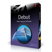 Debut Video Capture Software Free (อัดวีดีโอหน้าจอ) :