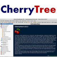 CherryTree (โปรแกรม CherryTree เขียนโน๊ต บันทึกข้อความ)
