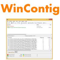 WinContig (โปรแกรม WinContig จัดเรียงข้อมูล โฟลเดอร์ ฟรี)