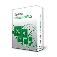 TrustPort USB Antivirus (โปรแกรมป้องกันไวรัส TrustPort USB)