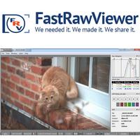 FastRawViewer (โปรแกรมเปิดไฟล์ภาพดิบ RAW ไฟล์ RAW ฟรี)