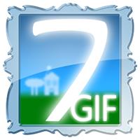 7GIF (โปรแกรม 7GIF บันทึกรูปภาพ GIF เคลื่อนไหว เป็น ภาพนิ่ง)