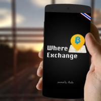 Where Exchange (App ค้นหาจุดแลกเงิน ดูอัตราแลกเปลี่ยนเงินดีที่สุด)