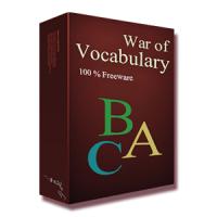 War of Vocabulary (ฝึกภาษาอังกฤษ ในรูปแบบเกมส์)