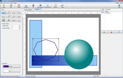 ดาวน์โหลดโปรแกรม DrawPad Graphics Editor