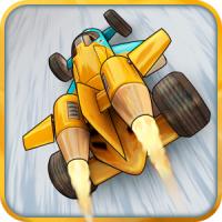Jet Car Stunts 2 (App เกมส์ขับรถอวกาศ)